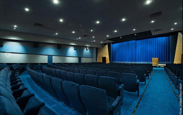 Le Writers Guild Theatre à Los Angeles où se déroulera la manifestation Direct to Series initiée par la France
