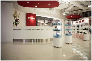 Canon showroomCourbevoie