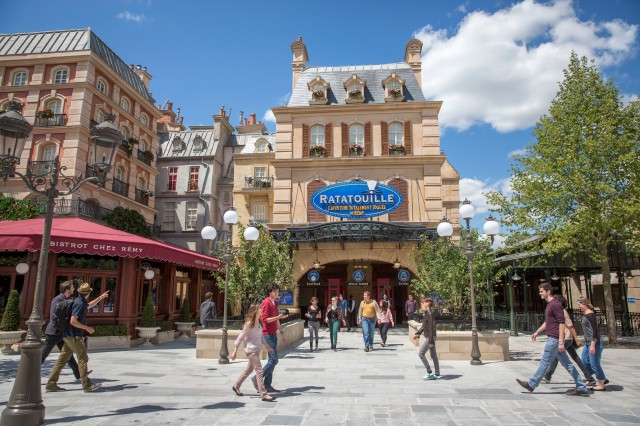Disneyland Paris Ratatouille 2