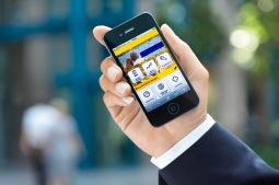 Postbank mobile Homepage