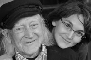René Vautier et sa fille Moïra