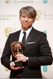 """Editor Tom Cross, Editing Winner for """"Whiplash"""""""