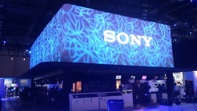 Sony NAB 2015 Booth