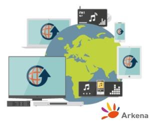Arkena CDN logo