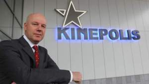 Kinepolis CEO Eddy Duquenne (c) Belga