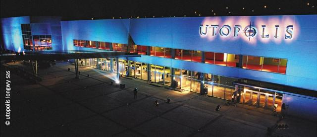 Utopolis at Longwy, north est of France, near the Grand Duchy of Luxembourg.