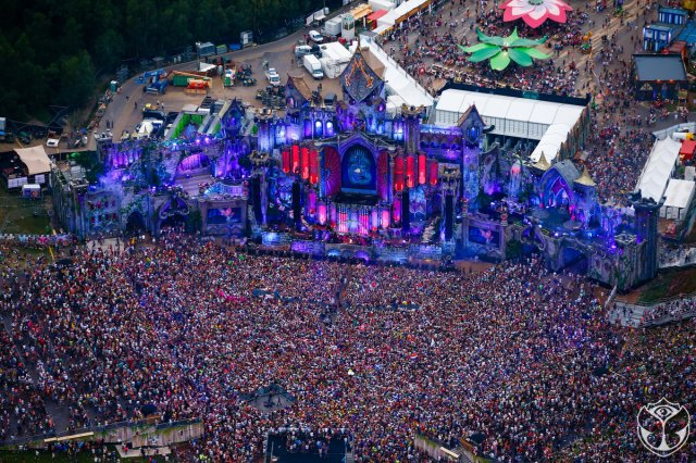 EVS Burst Tomorrowland