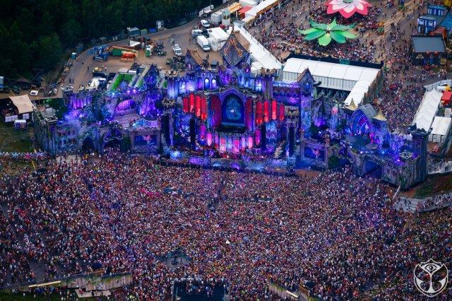 EVS Burst Tomorrowland