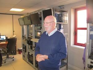 Le directeur associé de Vectracom,, Laurent Gignoux.