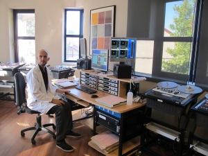 Le département en charge de la numérisation et restauration des bandes audio.
