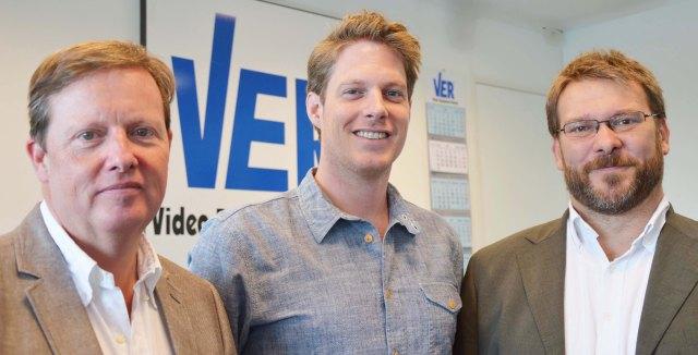 De g. à dr. : Harpert Bramervaer, Nils Pauwels et Ivo Nebbeling.