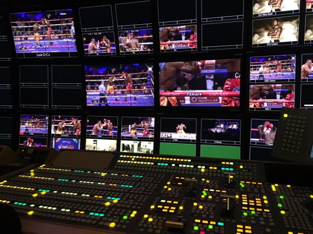 Boxe Canal+ Euromedia