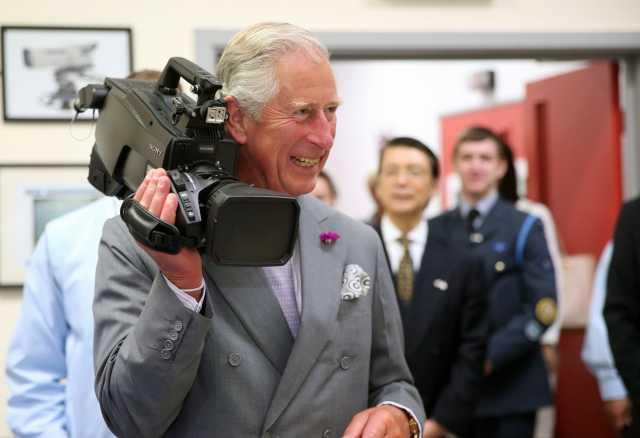 Sony visite royale