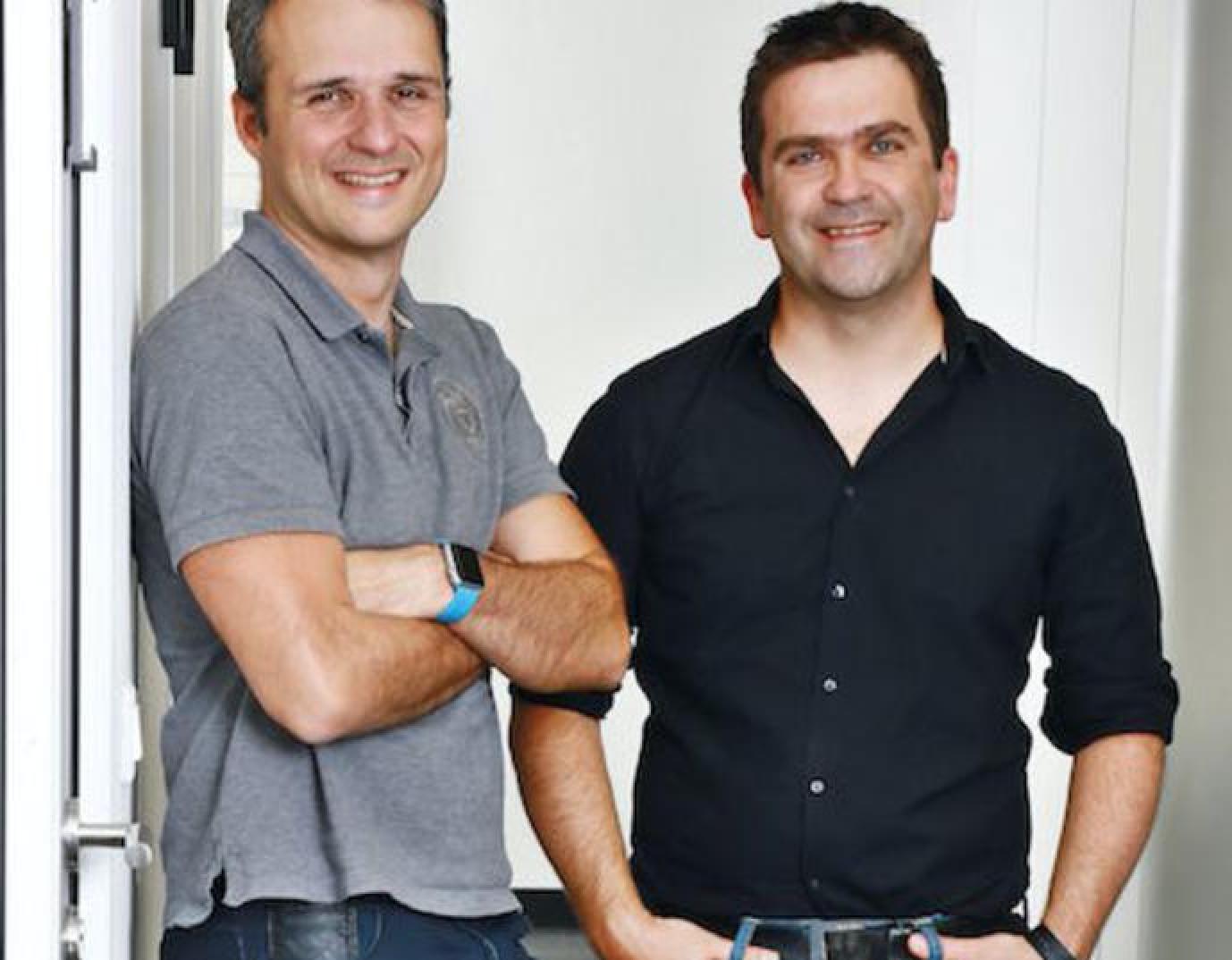 Cristian Livadiotti et Thomas Menguy, cofondateurs Wildmoka