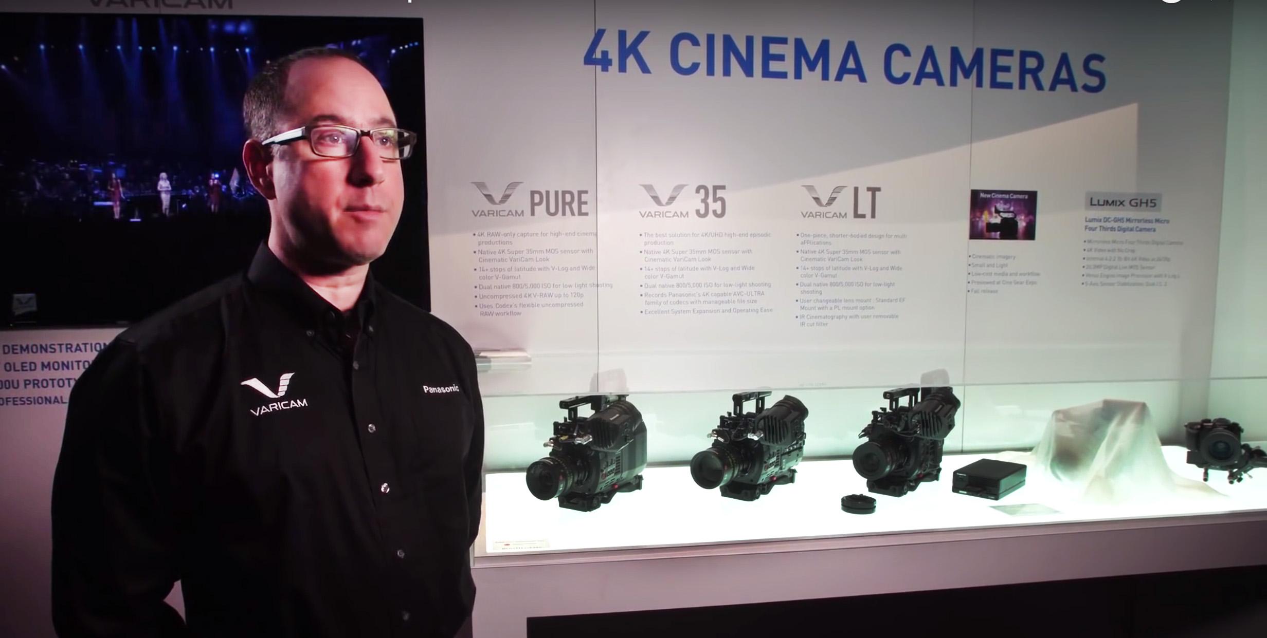 Panasonic Steve Cooperman, Senior Pdct Mgr Cine e& brodcast copie
