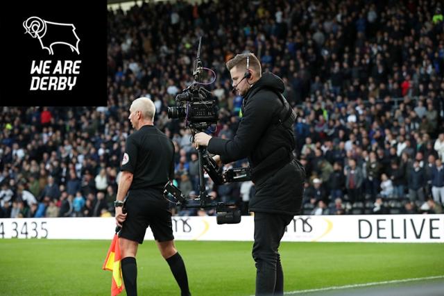 Derby County vs Reading. SkyBet EFL Championship. Pride Park Sta